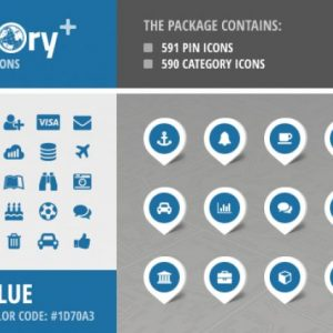 Directory+ Iconset - Blue