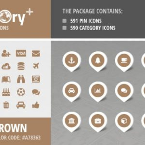 Directory+ Iconset - Brown