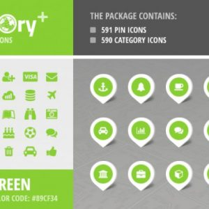 Directory+ Iconset - Green