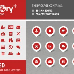 Directory+ Iconset - Red