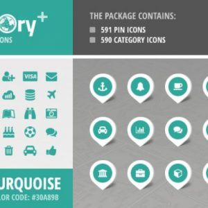 Directory+ Iconset - Turquose