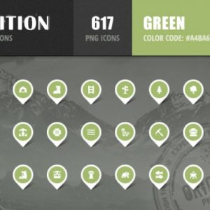 Expedition Iconset - Green