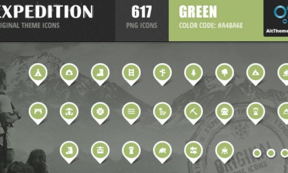 Expedition Iconset – Green