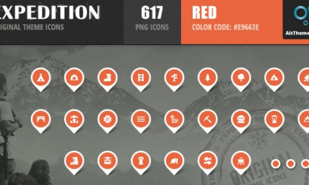 Expedition Iconset – Red