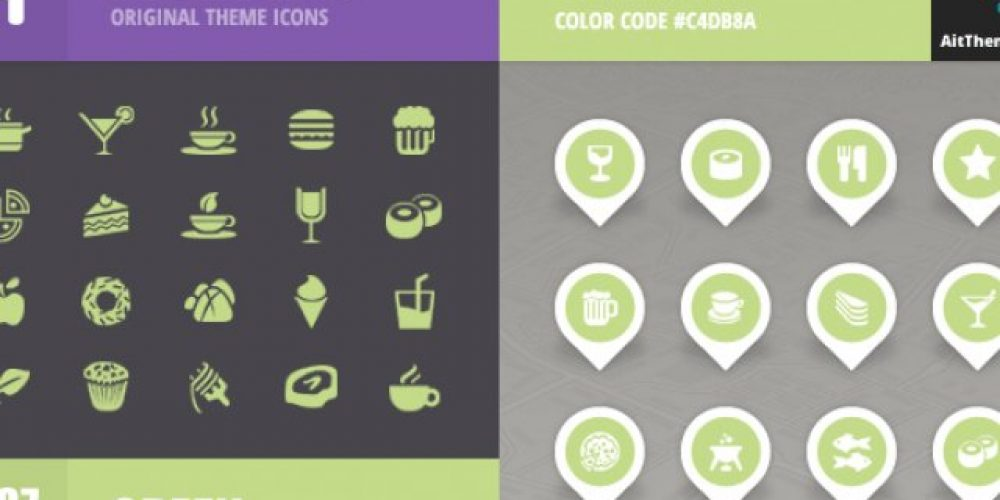 FoodGuide Iconset – Green