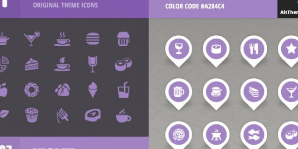 FoodGuide Iconset – Violet