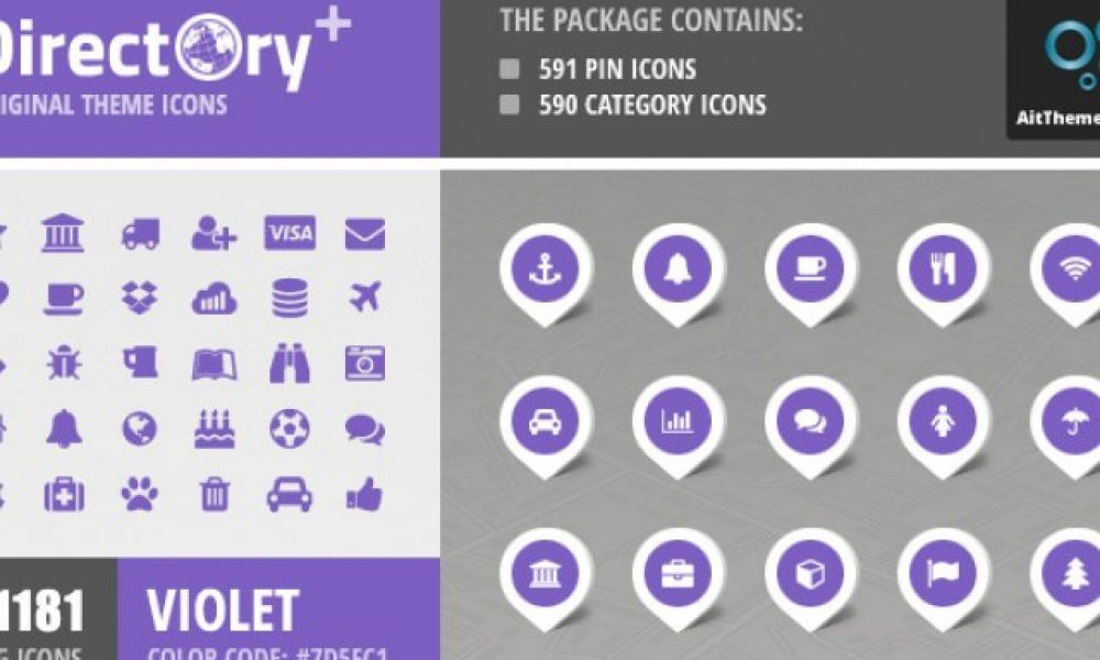 Directory+ Iconset – Violet