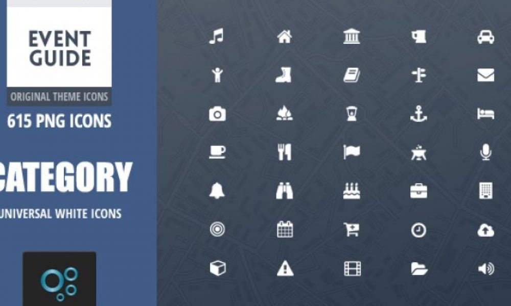 Event Guide Categories Icons