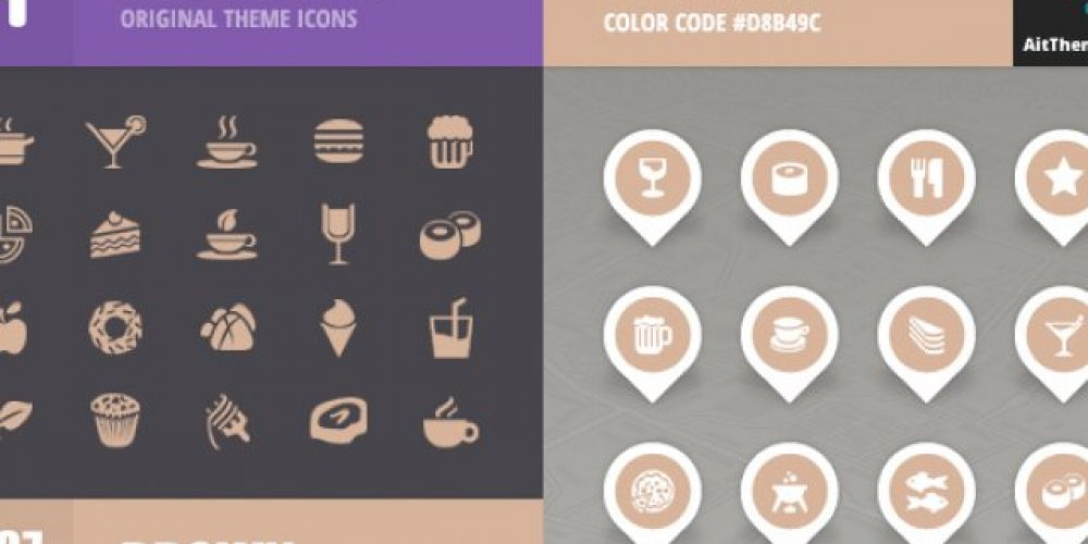 FoodGuide Iconset – Brown