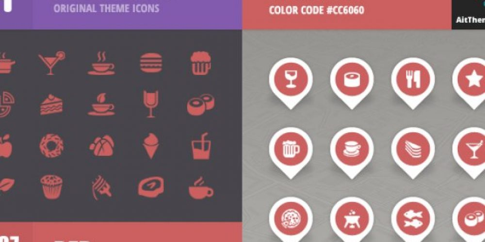 FoodGuide Iconset – Red